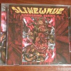 CDs de Música: V/A - SLIMEWAVE GOREGRIND SERIES CD - GRINDCORE. Lote 81956227