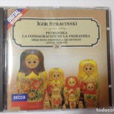CDs de Música: STRAVINSKI. ANTAL DORATI. Lote 77213677