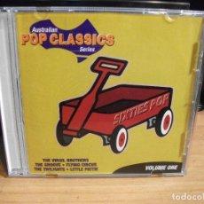 CDs de Música: VARIOS - AUSTALIAN POP CLASSICS POP CLASSICS SERIES.VOL.ONE CD AUSTRALIA1998 PDELUXE . Lote 77257513