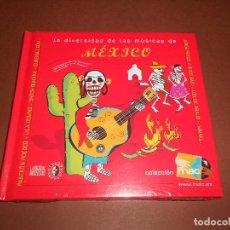 CDs de Música: LA DIVERSIDAD DE LAS MUSICAS DE MEXICO ( COLECCION FNAC ) - PRECINTADO - PANTEON ROCOCO .... Lote 77270013