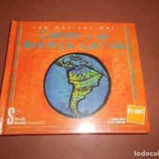 CDs de Música: LAS MUSICAS DEL CARIBE Y DE AMERICA LATINA ( EDICION EXCLUSIVA FNAC ) - LIBRO DISCO - PRECINTADO. Lote 77270233