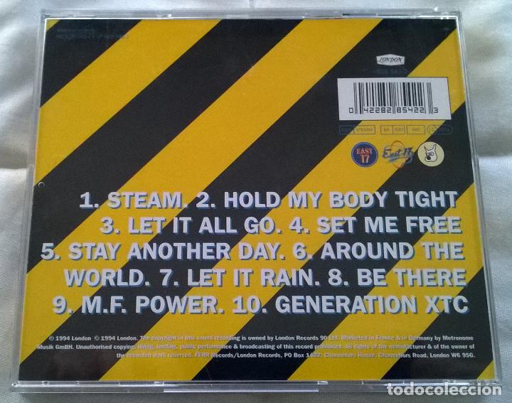CDs de Música: East 17 - Steam - CD Album - 1994 - Foto 2 - 77270465