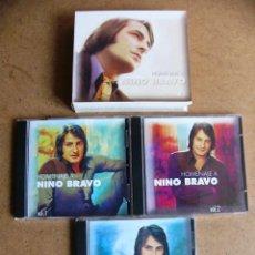 CDs de Música: LOTE PACK 3 CD DE MUSICA NINO BRAVO TE QUIERO LIBRE POR FIN MAÑANA PERDONA NOELIA MI GRAN AMOR. Lote 95719774