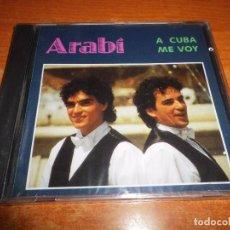 CDs de Música: ARABI A CUBA ME VOY CD ALBUM PRECINTADO LEONARDO DANTES CONTIENE 10 TEMAS. Lote 77348157