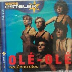CDs de Música: OLE - OLE NO CONTROLES SERIE ESTELAR CON VICKY LARRAZ. Lote 77358329