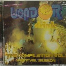 CDs de Música: WONDER DRINK THE COMPILATION VOL.1 FESTIVAL SESSION 2CDS.. Lote 78507685