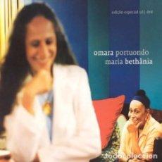 CDs de Música: OMARA PORTUONDO / MARIA BETHANIA - DELUXE EDITION CD + DVD. Lote 77394681