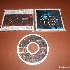CDs de Música: LEON GIECO ( EL VIVO DE LEON ) - CD - BAJASTE DEL NORTE - EL IMBECIL - PENSAR EN NADA ... - EMI. Lote 77426129