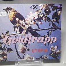 CD de Música: CD - SINGLE - GOLDFRAPP ?– UTOPIA - MUTE ?– CDMUTE253 - ( LEFTFIELD, DOWNTEMPO). Lote 77486221