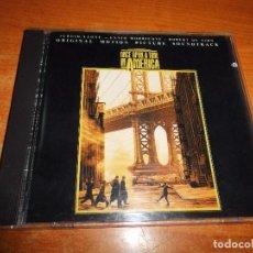 CDs de Música: ONCE UPON A TIME IN AMERICA ERASE UNA VEZ EN AMERICA BANDA SONORA CD ALBUM ESPAÑA ENNIO MORRICONE. Lote 188729636