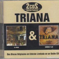 CDs de Música: TRIANA DOBLE CD EL PATIO / SOMBRA Y LUZ 2006 EDICIÓN LIMITADA. Lote 77627153
