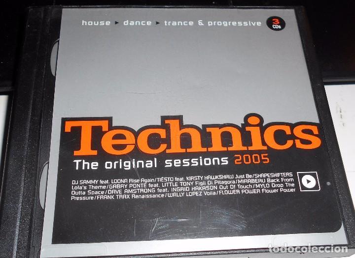 Technics original sessions 2005 house dance tra comprar for House music 2005