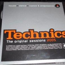 CDs de Música: TECHNICS ORIGINAL SESSIONS 2005 HOUSE DANCE TRANCE. Lote 82057275
