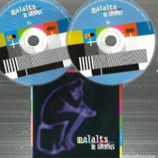 CDs de Música: DOBLE CD MALALTS DE SINTONIES (TEMAS DE CARLOS SEGARRA, KITFLUS, ALBERT GUINOVART, QUIMI PORTET, . Lote 77640429