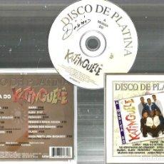 CDs de Música: CD A MUSICA DO KATINGUELE ( BRASIL ) : DISCO DE PLATA . Lote 77643429