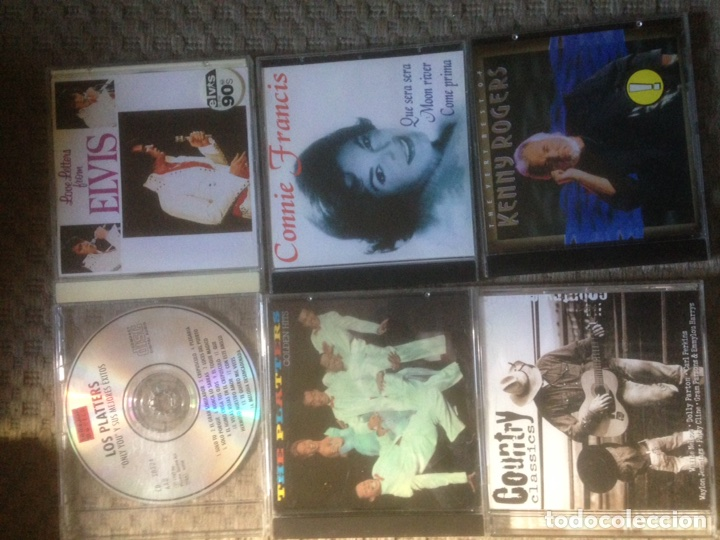 6 CDS VARIADOS (Música - CD's Otros Estilos)