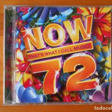 CDs de Música: CD NOW 72 - THAT'S WHAT I CALL MUSIC! (2 CD) (O8). Lote 77818545