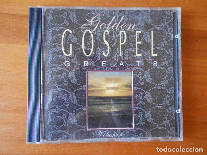 CD GOLDEN GOSPEL GREATS - VOLUME 4 (Q8) (Música - CD's Jazz, Blues, Soul y Gospel)