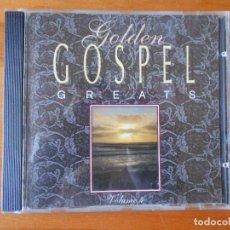CDs de Música: CD GOLDEN GOSPEL GREATS - VOLUME 4 (Q8). Lote 77876945