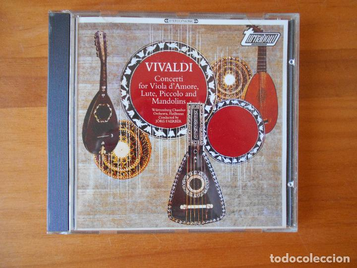 CD VIVALDI - CONCERTOS (V8) (Música - CD's Clásica, Ópera, Zarzuela y Marchas)
