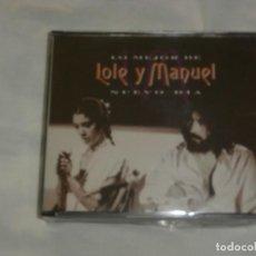 CDs de Música: LOLE Y MANUEL 2 CD`S LO MEJOR *** NUEVO DIA *** (1994) PRECINTADO NUEVO A ESTRENAR. Lote 78043545