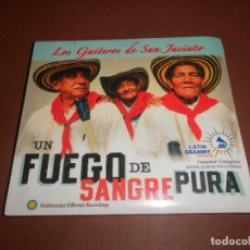 CDs de Música: LOS GAITEROS DE SAN JACINTO ( UN FUEGO DE SANGRE PURA ) - CD DIGIPACK - 016001-2 MTM - PRECINTADO. Lote 78066369