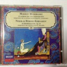 CDs de Música: NIKOLAI RIMSKI KORSAKOV SCHEHEREZADE. Lote 78078677