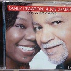 CDs de Música: RANDY CRAWFORD & JOE SAMPLE. FEELING GOOD. CD / PRA RECORDS-2006. 13 TEMAS / LUJO.. Lote 78147901