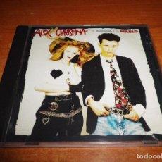 CDs de Música: ALEX & CHRISTINA EL ANGEL Y EL DIABLO CD ALBUM 1989 MOVIDA MUY RARO 10 TEMAS CHRISTINA ROSENVINGE. Lote 78170721