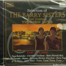 CDs de Música: THE BARRY SISTERS THEIR GREATEST YIDDISH HITS. Lote 78204701