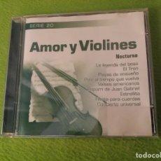 CDs de Música: AMOR Y VIOLINES DE LA COLECCIÓN SERIE 20 DE BARBARELA. Lote 78251117