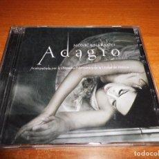 CDs de Música: MONICA NARANJO ADAGIO CD + DVD GRABADO EN DIRECTO DESDE EL TEATRO DE LA CIUDAD DE MEXICO 2009 . Lote 78258645