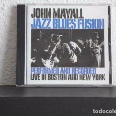 CD de Música: JOHN MAYALL-CD JAZZ BLUES FUSION. Lote 78296237