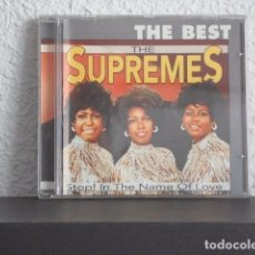 CDs de Música: THE SUPREMES-CD THE BEST. Lote 78296257