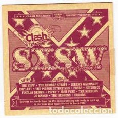 CDs de Música: SXSW UK INVASION. THE VIEW. THE RUMBLES STRIPS. JEREMY WARMSLEY. POPLEVI. THE PIGEON DETECTIVES...... Lote 78300941