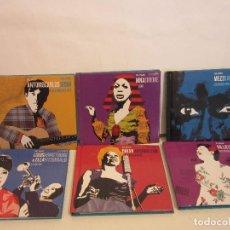 CDs de Música: ESTRELLAS DEL JAZZ - COLECCION COMPLETA - 35 X CD - LIBROS - SPAIN - EX+/NM+. Lote 78308157
