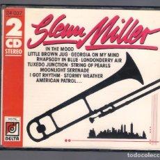 CDs de Música: GLENN MILLER - GLENN MILLER (2CD 1989, DELTA 24 037). Lote 78318909