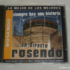 CDs de Música: ROSENDO CD. SIEMPRE HAY UNA HISTOTIA (EN DIRECTO + BONUS -2002) COMO NUEVO. Lote 78321509
