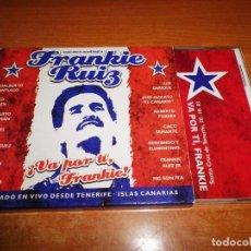 CDs de Música: FRANKIE RUIZ CONCIERTO HOMENAJE DIRECTO TENERIFE CD ALBUM 2003 CACO SENANTE LALO RODRIGUEZ MUY RARO. Lote 78358397