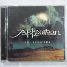 CDs de Música: AKHENATON - SOL INVICTUS - CD 2001 - MADE IN EU. Lote 78374253