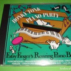 CDs de Música: HONKY TONK PIANO PARTY / FATSY FINGER´S ROARING PIANO BAND / MCR PRODUCTIONS 1989 / CD. Lote 78460265
