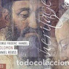 CDs de Música: GEORG FRIDERIC HANDEL - SOLOMON (2CD) AKADEMIE FUR ALTE MUSIK BERLIN. Lote 144708489
