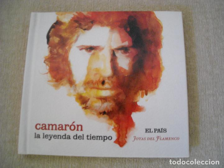 CD Y LIBRETO- CAMARON- LA LEYENDA DEL TIEMPO- JOYAS DEL FLAMENCO EL PAIS 2008 - DE LUJO A ESTRENAR (Música - CD's Flamenco, Canción española y Cuplé)