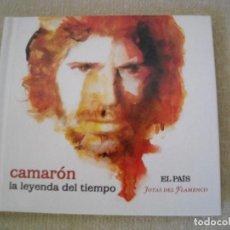 CDs de Música: CD Y LIBRETO- CAMARON- LA LEYENDA DEL TIEMPO- JOYAS DEL FLAMENCO EL PAIS 2008 - DE LUJO A ESTRENAR. Lote 78496189