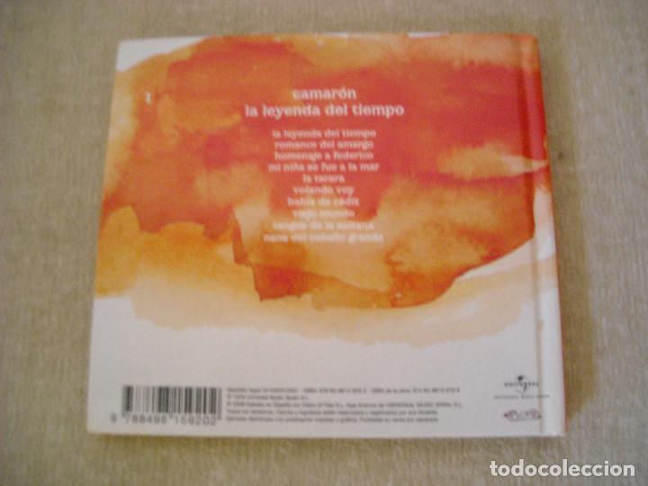 CDs de Música: CD y LIBRETO- CAMARON- LA LEYENDA DEL TIEMPO- JOYAS DEL FLAMENCO EL PAIS 2008 - DE LUJO A ESTRENAR - Foto 2 - 78496189