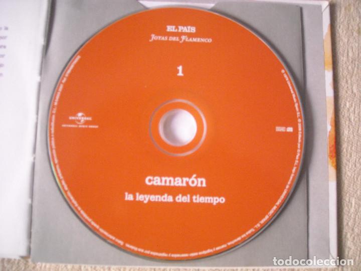 CDs de Música: CD y LIBRETO- CAMARON- LA LEYENDA DEL TIEMPO- JOYAS DEL FLAMENCO EL PAIS 2008 - DE LUJO A ESTRENAR - Foto 3 - 78496189