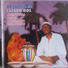 CDs de Música: ORISHA AYE, LAZARO ROS, ARGAYU SOLA IBEYES. CD NUEVO Y AÚN PRECINTADO. Lote 144685538