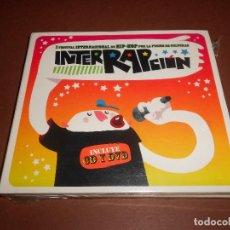 CDs de Música: INTERRAPCION - CD Y DVD - PRECINTADO - I FESTIVAL INTERNACIONAL DE HIP-HOP POR LA FUSION DE CULTURAS. Lote 78573197