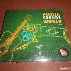 CDs de Música: PUGLIA SOUNDS WORLD 2012 - CD - DIGIPACK - PRECINTADO - OFFICINA ZOE - MINO DE SANTIS - BAYE FALL ... Lote 78574089