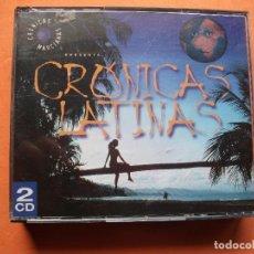 CDs de Música: DOBLE CD-CRÓNICAS LATINAS(CRÓNICAS MARCIANAS)-VIRGIN-1999-35 TEMAS COMO NUEVO¡¡ PEPETO. Lote 78631009